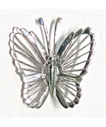 VINTAGE SIAM STERLING SILVER BUTTERFLY PIN  - $12.95