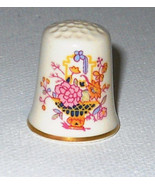 THIMBLE  MASON'S FINE ENGLISH PORCELAIN WITH ORIGINAL BOX - $6.95