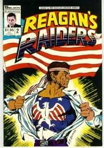 REAGAN'S RAIDERS #2 (Solson) NM! - $1.00