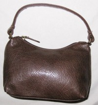 """Brown Xhilaration 4.5X7"""" Faux Leather Small Han... - $8.74"""