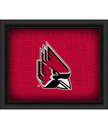 "Ball State University ""College Logo Plus Word Clouds"" - 15 x 18 Framed P... - $49.95"
