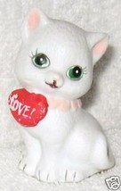 Kitten with red heart, (love) - $5.99