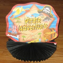 """Multi-color Pirate Adventure 10"""" Waffle Paper - Party Decoration - $7.52"""