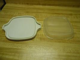 corningware covers for individual casserole dish - $28.45
