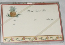 Pineapple  4 1/2 X 6 1/2 Party Invitation Cards... - $6.89