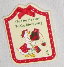 RUSS Humor Magnet Sign Tis the Season to go Sho... - $7.79