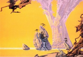 Comx   postcard yellow city roger dean thumb200