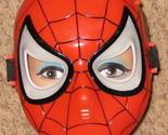 Red Black Spider Man Halloween Costume Mask