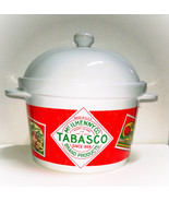 TOBASCO CHILE Bean Pot in Commercial Porcelain - $14.95