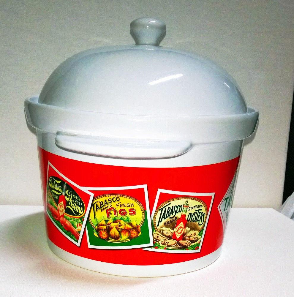 TOBASCO CHILE Bean Pot in Commercial Porcelain