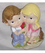 "Very Cute 3 3/4"" Boy with Girl Couple in Love F... - $9.05"