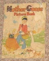 Vintage 1932 Mother Goose Picture Book & Rhymes - $23.52