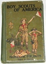 Vintage Handbook for BOY SCOUT SCOUTS OF AMERICA BOOK - 1926 - $192.10
