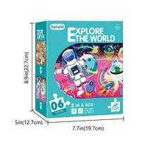 Kylwin Explore the World 06 Level Wisdom Puzzles Set of 2 ~Brand new in ... - $19.50