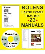 BOLENS HT18 HT20 HT22 HDT1000 LG Frame TRACTOR SERVICE & PTS MANUAL -23-... - $14.49
