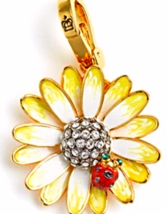 Juicy Couture Spring Flower Daisy Charm with Ladybug for bracelet daydre... - $44.99