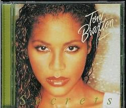 TONI  BRAXTON  * SECRETS *  CD - $3.00