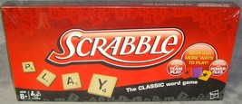 2012•Brand New•Sealed•Hasbro•Scrabble•w/ Power Tiles•Crossword Game•USA•Unopened - $17.99