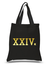 "Bruno Mars ""24k Magic - XXIVk"" 100% Cotton Tote Bag - $12.00"