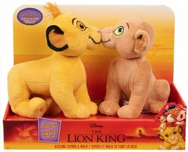Disney The Lion King Kissing Plush - Simba & Nala  - $24.99