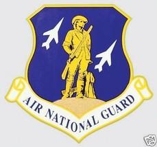 USAF AIR FORCE AIR NATIONAL GUARD CAR WINDOW DECAL - $13.53
