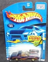 Hot Wheels MONTEZOOMA #183 Diecast Car NEW 2001 - $4.50