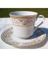 Wallace Heritage Japan Daphne Porcelain Cup Saucer Set - $9.95