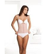 BRAZILIAN VEST, WAIST CINCHER, DIVA FIT By SQUEEM, BEIGE LATEX - $50.99