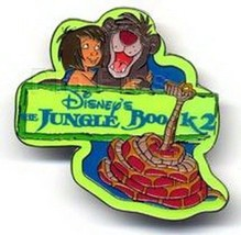 Jungle Book 2 - Mowgli Baloo  Kaa UK Disney  Authentic  Pin/Pins - $16.99