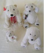 Stuffed Bears, Collectible Set 4 Coca Cola Bear... - $22.00