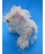 Ganz Webkins White Shaggy Terrier Puppy Dog with Sealed Code MWT - $6.62