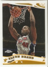Elton Brand Topps Chrome 05-06 #86 Los Angeles Clippers Atlanta Hawks Chicago  - $0.20