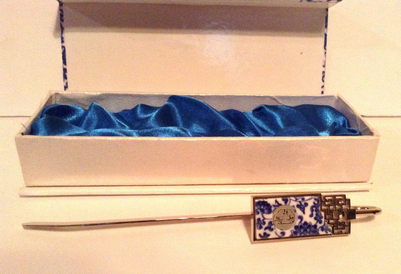 Foshan Chancheng Blue and White Porcelain Pen