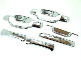 2DR CHROME DOOR HANDLE+TAILGATE FOR ISUZU D-MAX I370 PICKUP 2002 - 2011 - $26.49