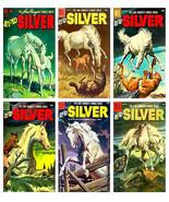 Hi-Yo Silver (The Lone Ranger's Horse) - 6 Comic Book Cover Art Magnets - $17.98