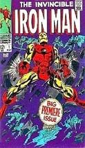 The Invincible Iron Man Comic Book Cover Art Magnet #2 - $5.99