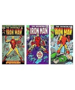 3 Iron Man Comic Book Cover Art Magnets - $12.99