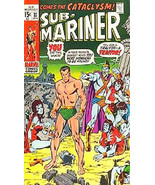 Prince Namor, The Sub-Mariner Comic Book Cover Art Magnet #3 - $4.99