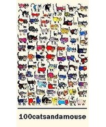 100 Cats And A Mouse Magnet - $5.99