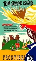 Tom Sawyer Island Disney World Frontierland Magnet - $5.99