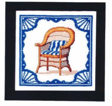 Front Porch Sittin cross stitch chart Bobbie G Designs - $6.30