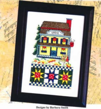 Sadie's Coffee Shop cross stitch chart Bobbie G Designs - $5.40