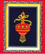 Elegant Red Ornament cross stitch chart Bobbie G Designs - $6.30