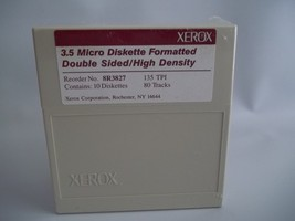 Xerox 3.5 Micro Diskette Formatted Double Sided... - $17.05