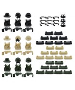 Custom Minifigures Military Army Guns Weapons Compatible w/ Lego Sets Mi... - $16.99