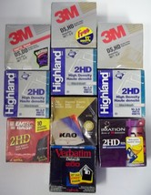 "Lot of 102 NEW 3.5"" Floppy Disk Diskettes IBM &... - $70.13"