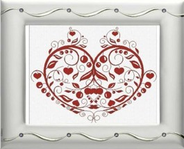 Cuorde di Mamma (Heart of Mother) cross stitch chart Alessandra Adelaide Needlew - $15.30