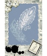 Vola Pensiero (Flying Thought) cross stitch chart Alessandra Adelaide Ne... - $15.30