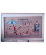 Summertime cross stitch chart Cuore e Batticuore  - $12.60