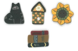 BUTTON PACK September monthly collection cross ... - $10.50